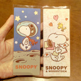 Set of 5 Snoopy Bookmark Snoopy Card Page Marker Book Accessories Paper Bookmark Dog Bookmark