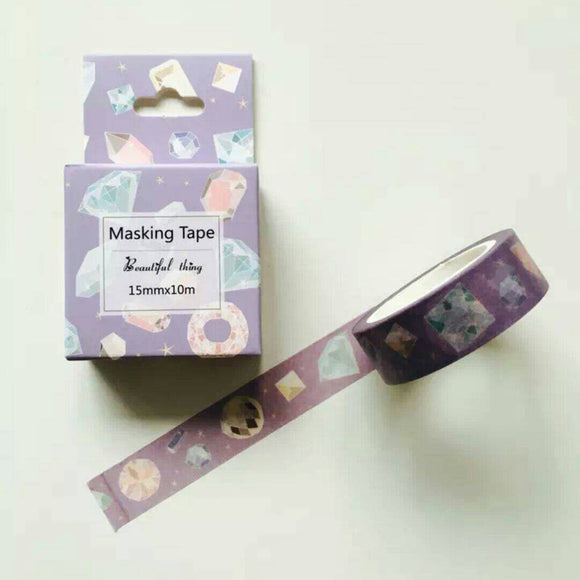 Diamond Washi Tape Gem Washi Tapes Deco Tapes