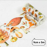 Seasons Washi Tapes Wide Washi Tapes Autumn Washi Tape Deco Tapes