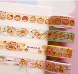 4 rolls Sanrio Characters Washi Tape Set Deco Tapes