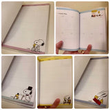 Snoopy 2019 Schedule Books Snoopy Schedule Books 2019 Planners Undated Calendar Books