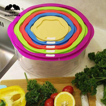 Two Elephants™ Food Storage Set with Coded Lids