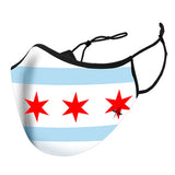 Chicago Flag Reusable Cloth Mask