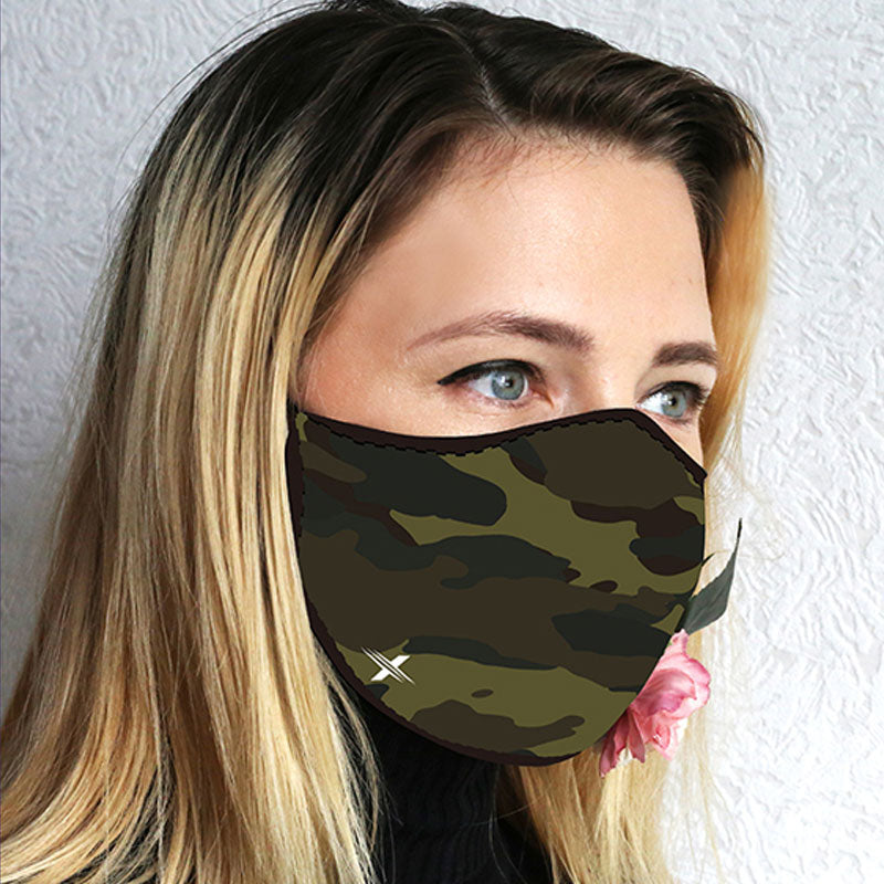 Printed Cloth Masks with Filter Pockets