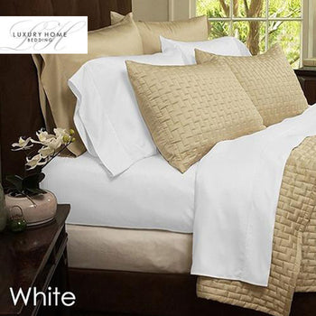 6-Piece Set: Super-Soft 1800 Series Bamboo Fiber Sheet