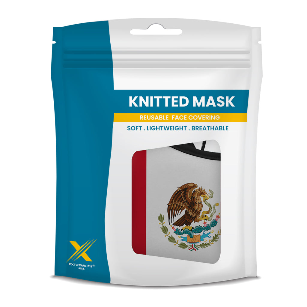 Mexico Flag Reusable Cloth Mask