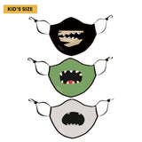 Kids Halloween Print Reusable Cloth Mask