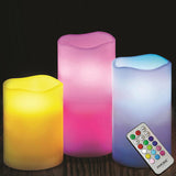 Color-Changing LED Flameless Candles With Remote