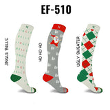 Holiday Fun Knee High Compression Socks