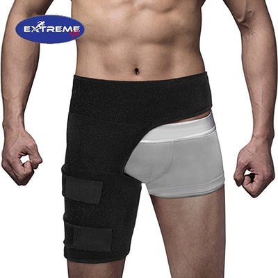 Extreme Fit™ Unisex Adjustable Neoprene Waist Wrap Thigh Compression Garment