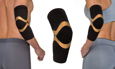 Extreme Fit™ Unisex Copper Compression Elbow Sleeve