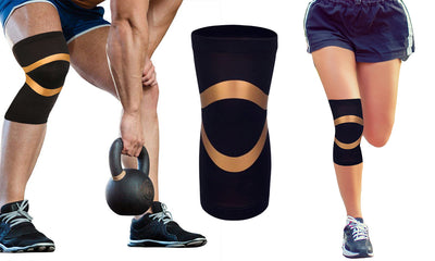 Extreme Fit™ Unisex Copper Compression Knee Sleeve