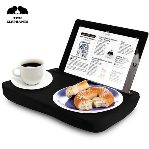 Two Elephants™ iPad and Tablet Lap Desk with Super Soft Cushion