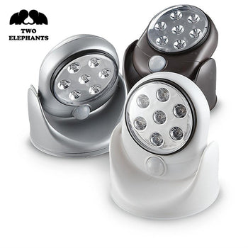 Two Elephants 7 LED Motion Activated Light