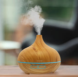 Wood Grain Cool Mist Diffuser