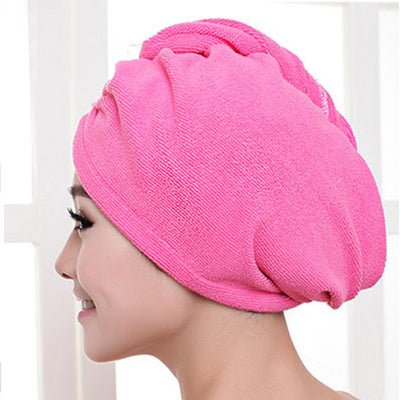 Luxury Home™ Comfy Microfibre Hair Towel