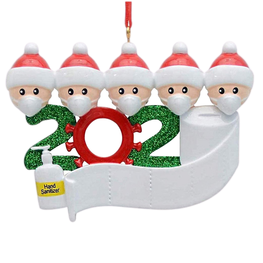 2020 Quarantine Family Christmas Ornament Personalized Xmas