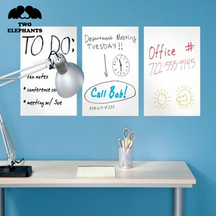 Removeable Dry Erase Sheets with Marker
