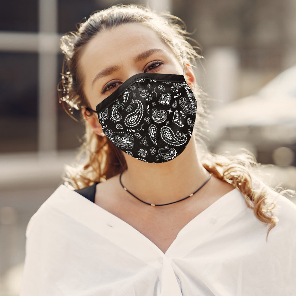 Paisley Print Reusable Cloth Mask
