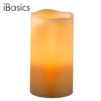 iBasics™ LED Wax Candle with Built-In Bluetooth Speaker