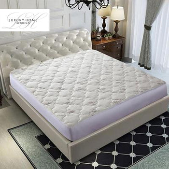 Luxury Home™ Super-Soft Bamboo Mattress Topper