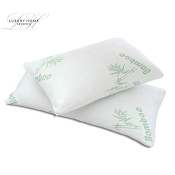 Luxury Home™ Bamboo Memory Foam Hypoallergenic Pillow