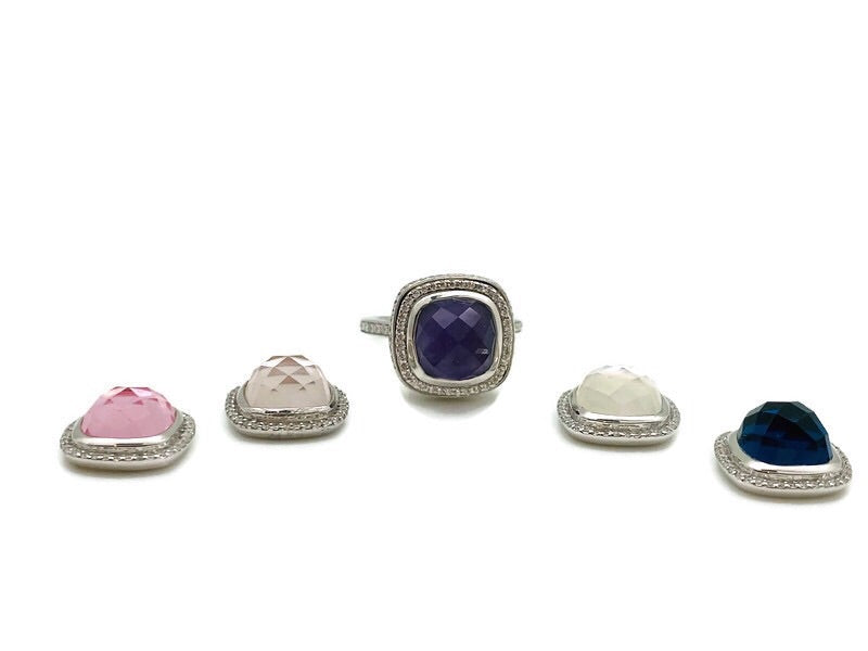 Silver Interchangeable Ring