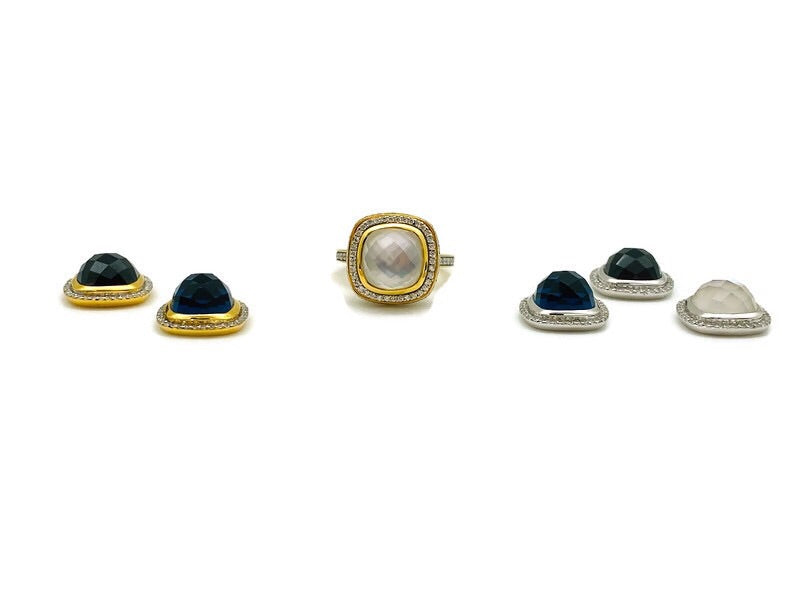Gold Interchangeable Ring