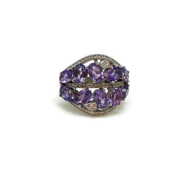 Amethyst Bonsai Ring