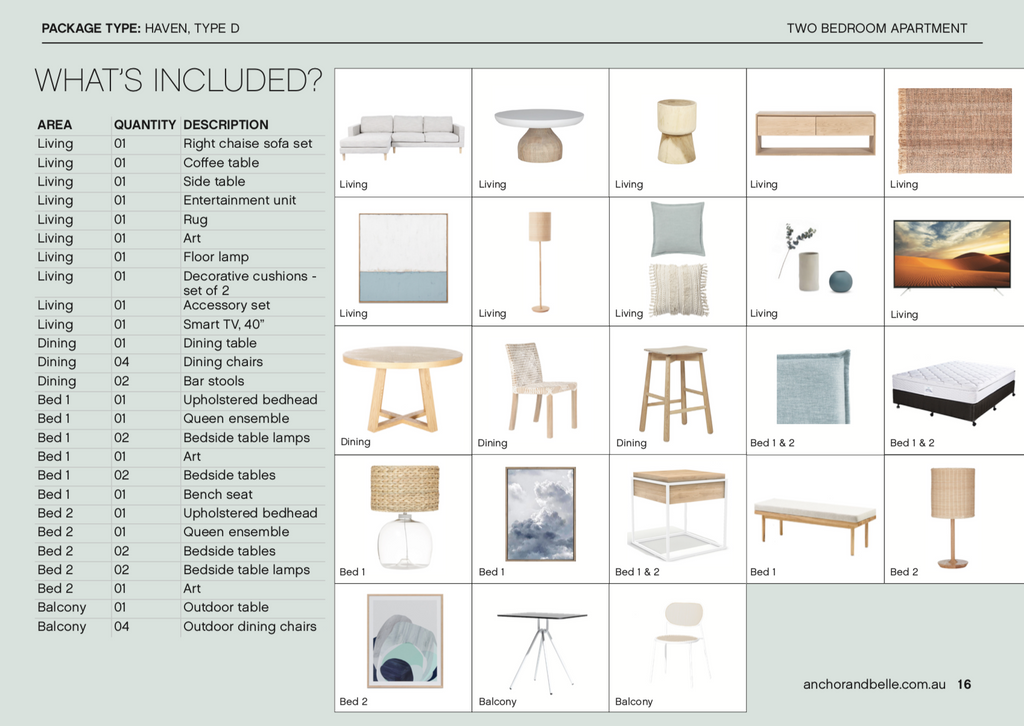 Haven Furniture Package