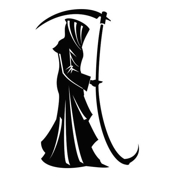 Reaper vinyl decal sticker for Car/Truck Window laptop robe