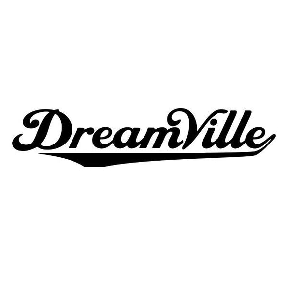 Dreamville vinyl decal sticker for Car/Truck Window tablet mac skate board music