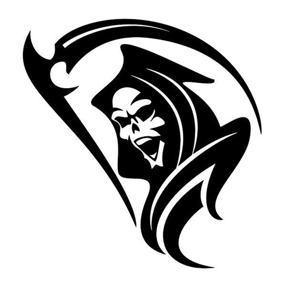 Reaper vinyl decal sticker for Car/Truck Window laptop ghost