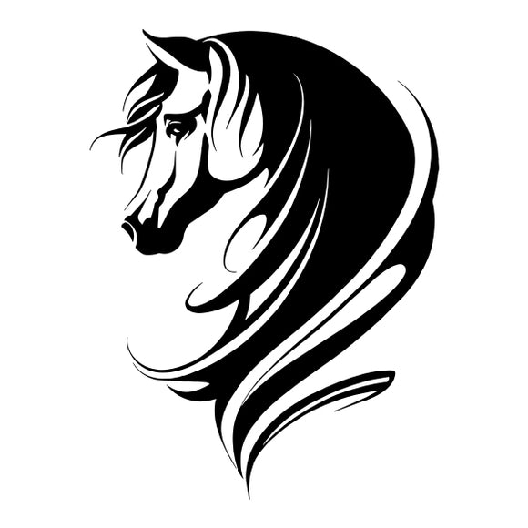 Horse vinyl decal sticker for Car/Truck Window Computer stallion tribal decor