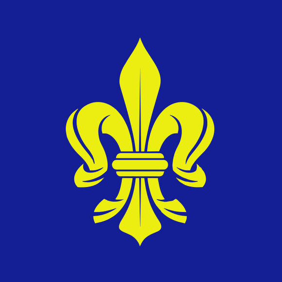 Fleur de lis vinyl decal sticker for Car/Truck Window European Iris