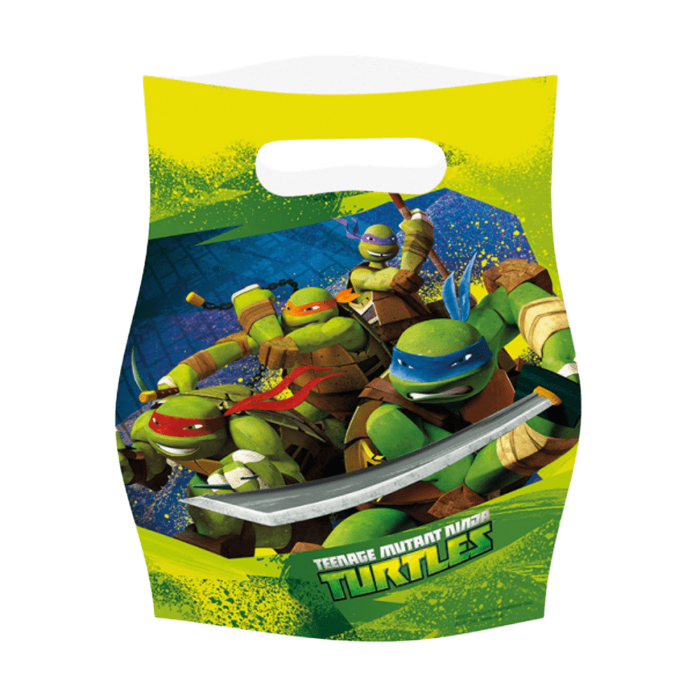 Partybags Ninja Turtles
