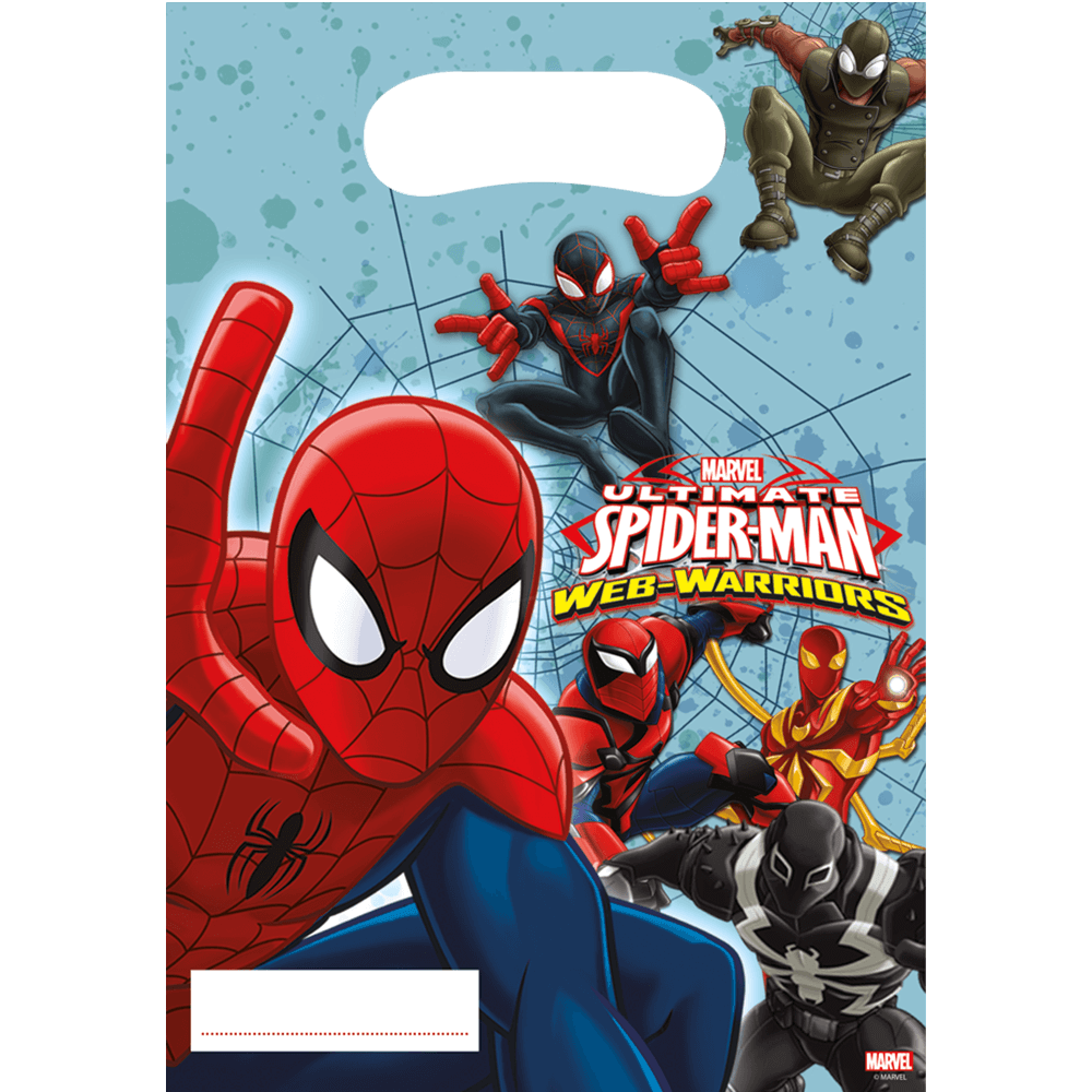 Spiderman partybag