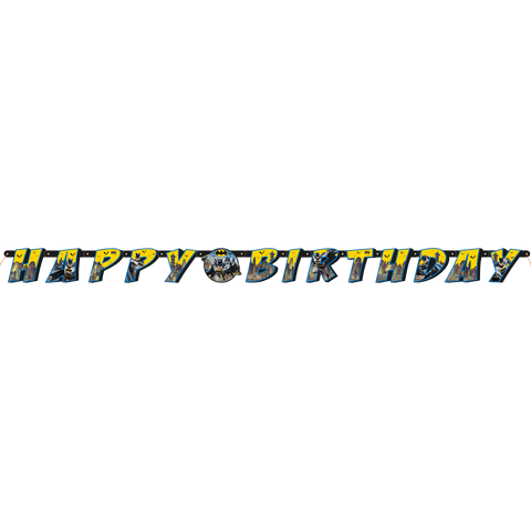 "Batman ""Happy Birthday"" banner"