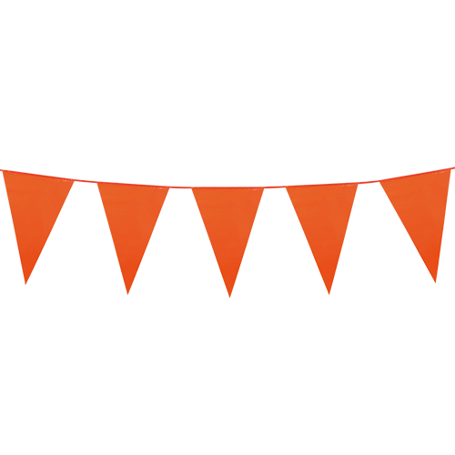 Orange flagbanner