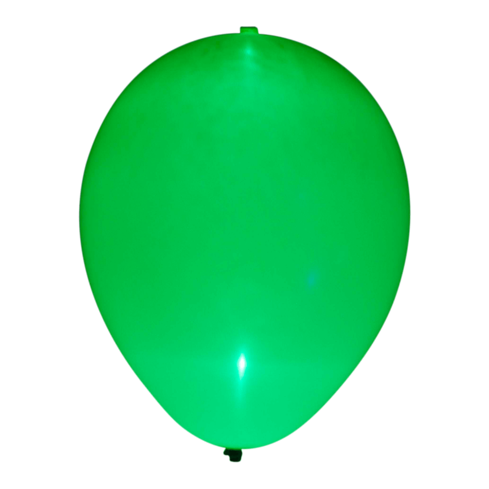 Grøn LED ballon