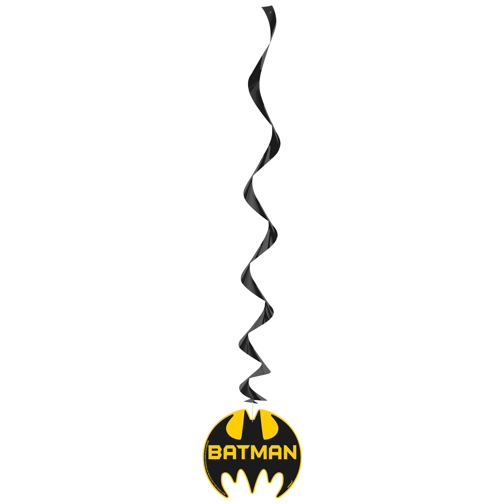 Batman logo hvirvel dekoration