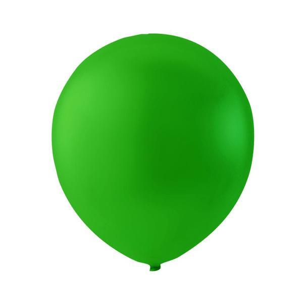 Limegrøn latexballon