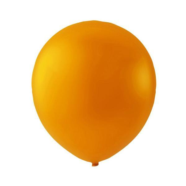 Orange latexballon