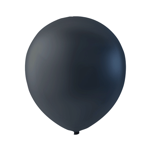 Sort Halloween latexballon