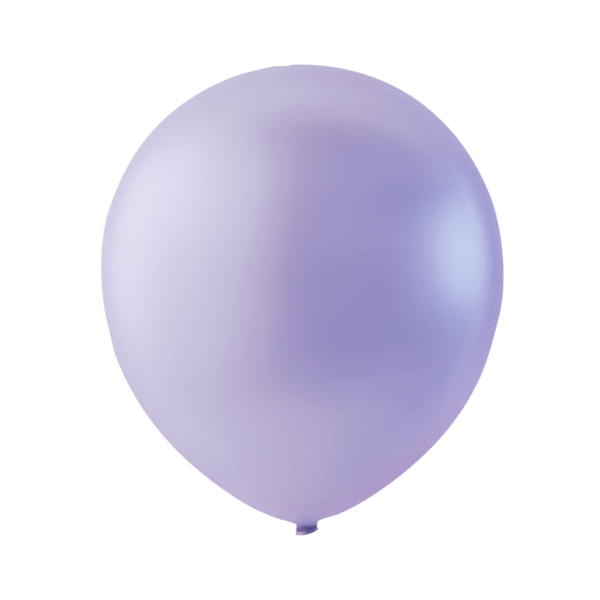 Lys lilla latexballon