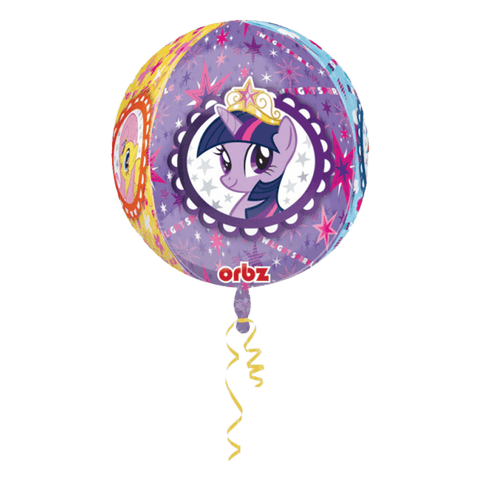 4 - siders My Little Pony folieballon