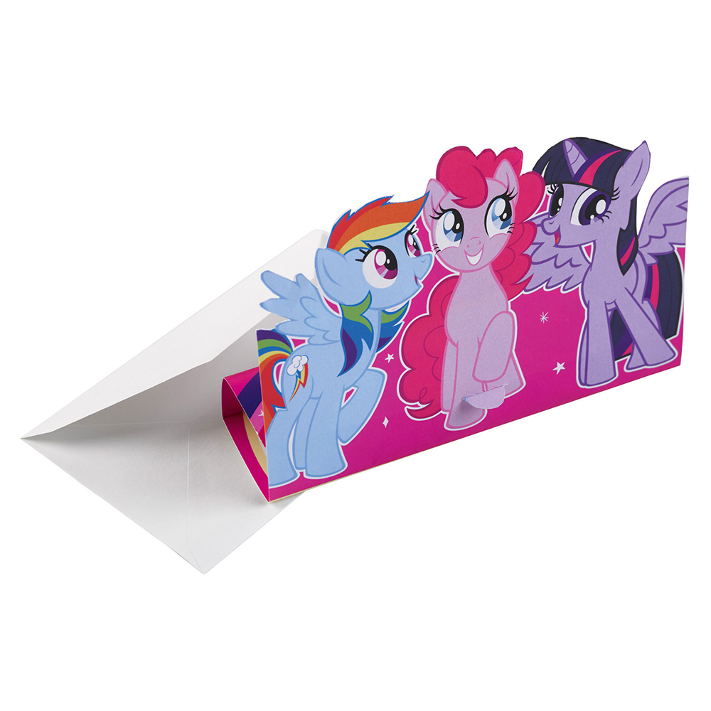 My Little Pony invitation