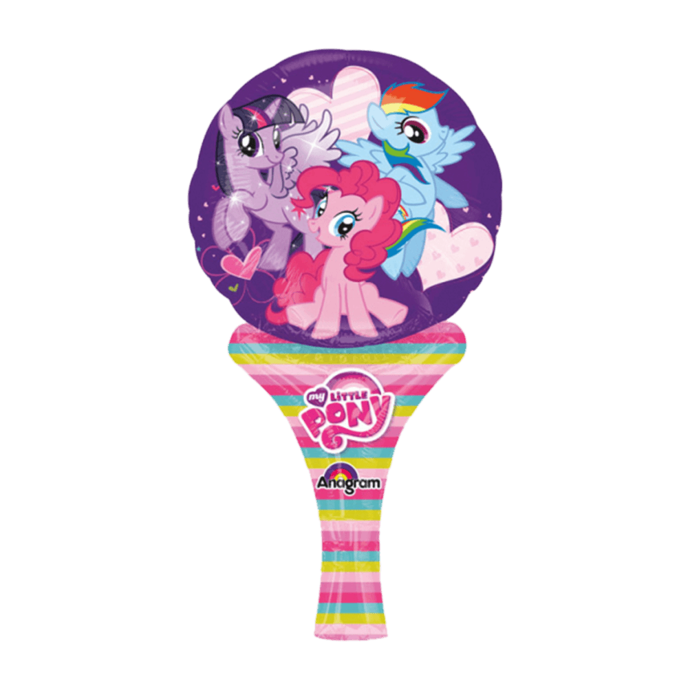 My Little Pony folieballon med håndtag
