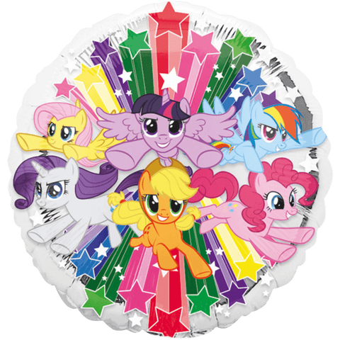 My Little Pony folieballon med alle ponyerne