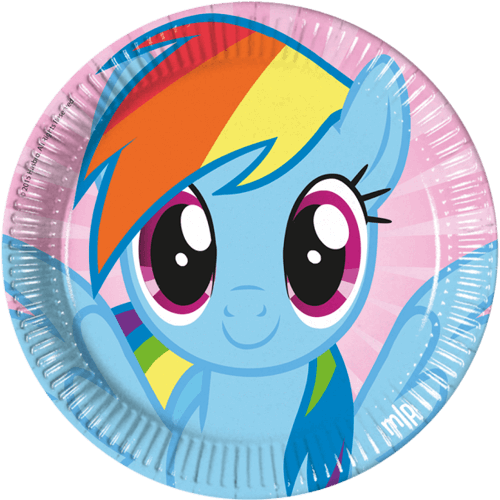 My Little Pony, Rainbow Dash paptallerken